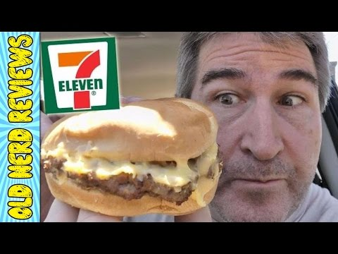 7 Eleven NEW Cheeseburger REVIEW 🍔