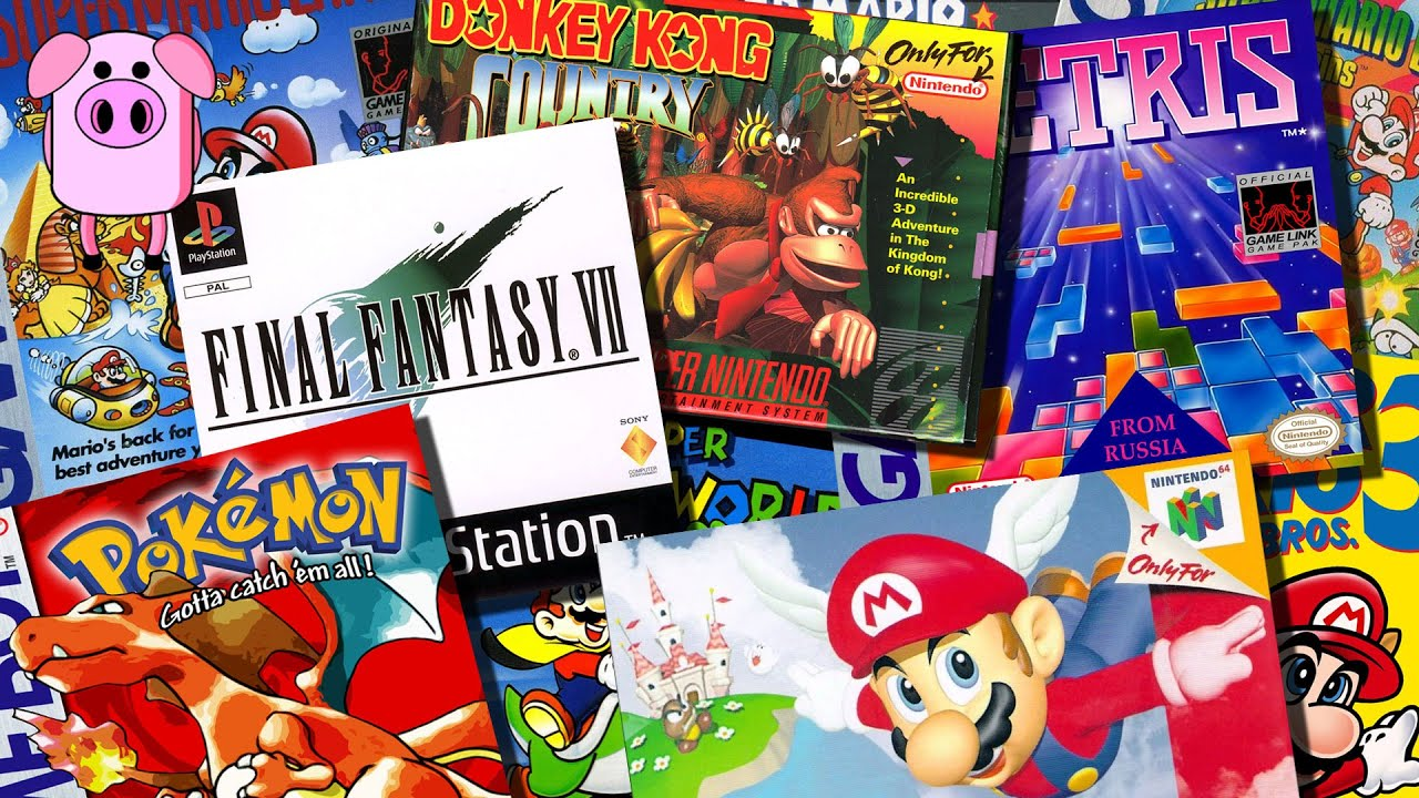 Image result for video games 1990s