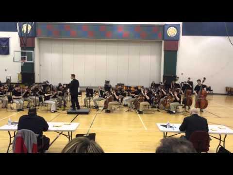 Avon Middle School North 8th Grade Orchestra - Night Shift