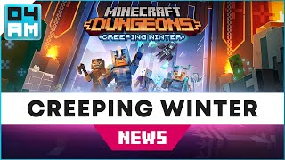 Minecraft Dungeons: Creeping Winter DLC - EVERYTHING You Need to Know (New Map, Mobs, Loot & More)