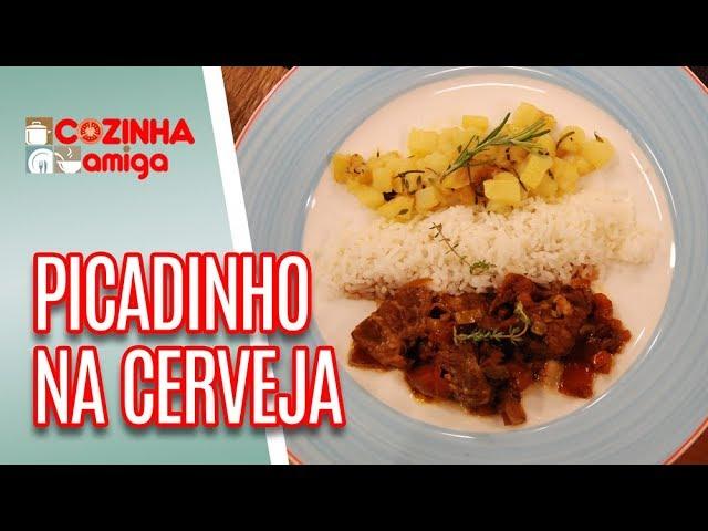 Picadinho na Cerveja com Batata Souté - Giuliana Giunti | Cozinha Amiga (04/02/19)