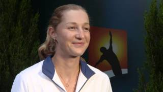 Ekaterina Makarova interview (4R) - Australian Open 2015