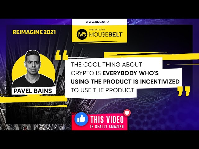 REIMAGINE 2021 - Pavel Bains - Bluzelle - CEO & Cofounder - Decentralizing your tech stack further