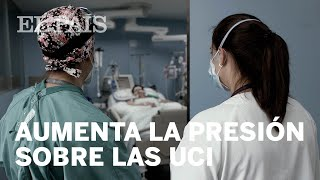 #CORONAVIRUS   En la UCI del Hospital Sant Pau