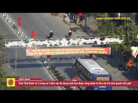 Thành phố Thái Bình trên cao-VOV Giao thông