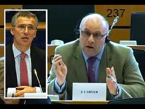 UKIP MEP James Carver questions NATO Secretary General (Foreign Affairs committee)