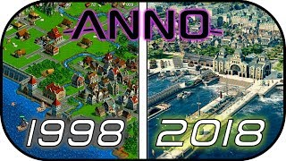 EVOLUTION of ANNO games (1998-2018) video game graphic & gameplay 1800