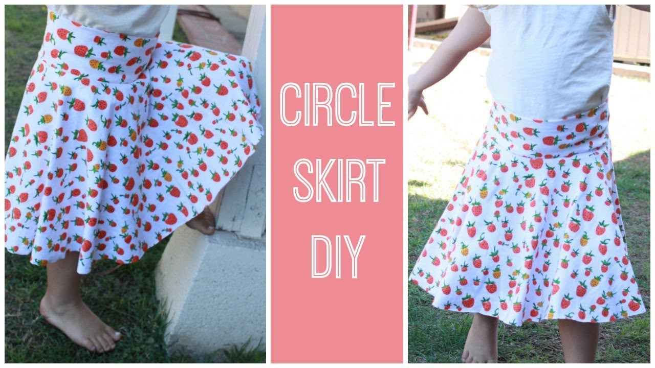 DIY Circle Skirt Tutorial - YouTube