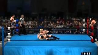 XBOX360版 WWE'13 のLive対戦 プロレスゲームでプロレスごっこ WWE'13リ...