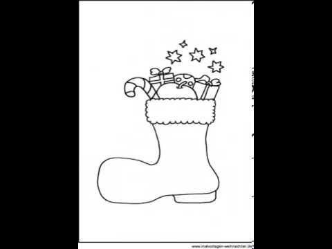 bastelvorlagen weihnachten zum ausdrucken  YouTube