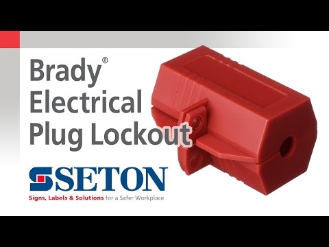 How to Install A Brady® Electrical Plug Lockout Device | Seton Video