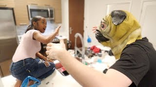 I HAD A STRANGER TRY TO SNATCH UP MY LITTLE SISTER * crazy reaction *