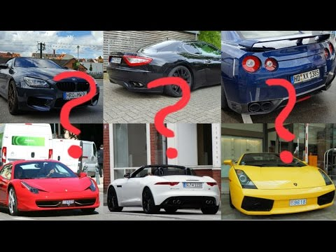Supercar Sound Quiz Episode Youtube