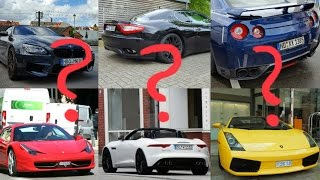 This is the first episode of my Supercar-Sound-Quiz. Hope you enjoy...
