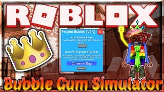 [NEW] ROBLOX HACK/SCRIPT ✅ BUBBLE GUM SIMULATOR ✅ 😱 LEGENDARY PETS & AUTOFARM 😱[FREE] [Dec 20]