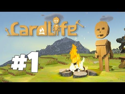 Pahvinen maailma - Pelataan CardLife | Osa 1