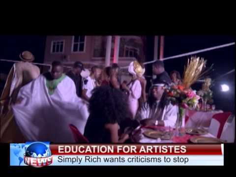 EDUCATION FOR ARTISTES   SIMPLY RICH LAMENTS