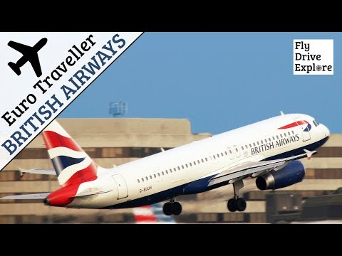 British Airways Euro Traveller Economy Class - London LHR To Tallinn Estonia