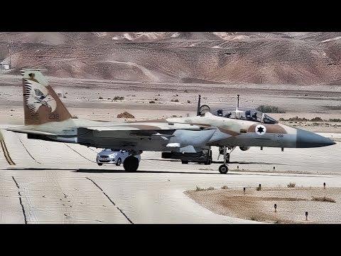 U.S. F-15E Strike Eagle \u0026 Israeli F-15I Ra'am Joint Training
