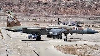U.S. F-15E Strike Eagle & Israeli F-15I Ra'am Joint Training