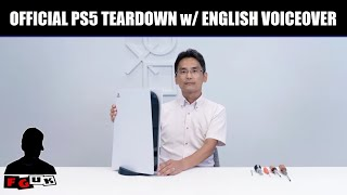 The Official Sony PS5 Teardown (English Voiceover)