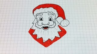 Простые рисунки #163 Как нарисовать Деда Мороза =)(Все все рисунки с моего канала https://www.youtube.com/user/MsSimpleDrawings/videos Новогодние рисунки https://goo.gl/pN2gxm Группа вконтак..., 2014-12-22T17:57:54.000Z)