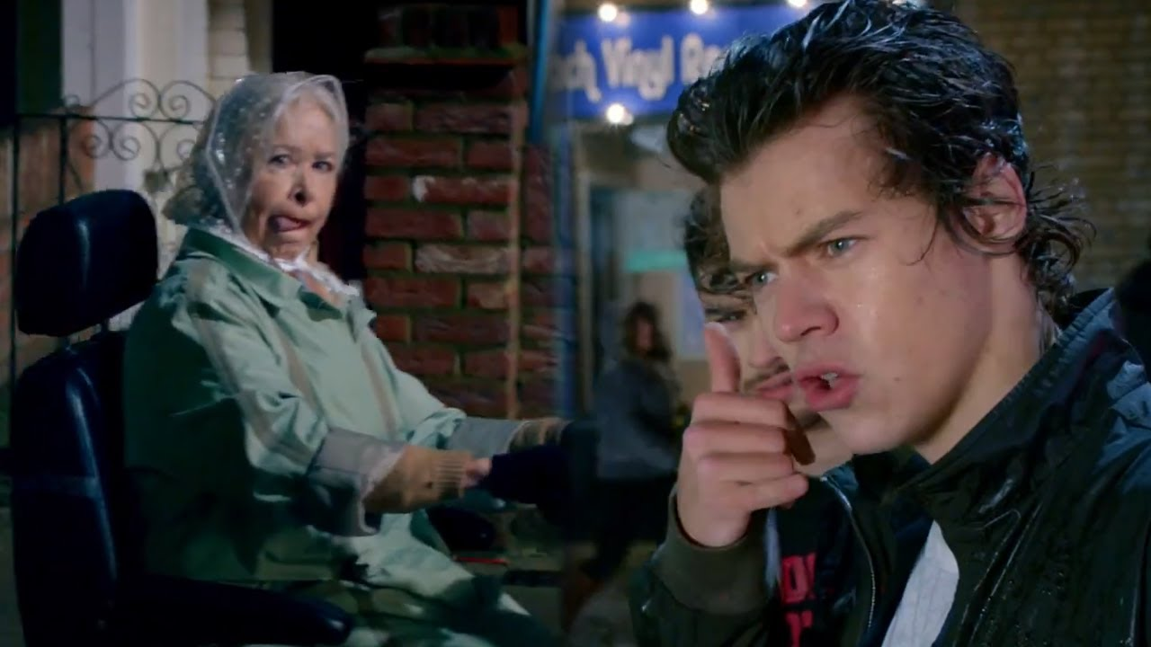 "One Direction ""Midnight Memories"" Romance With Grandmas in ..."