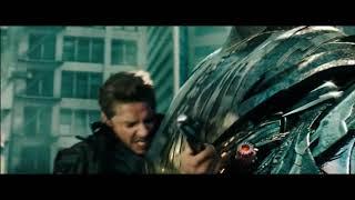 Сэм убивает Старскрима / Трансформеры 3: Тёмная сторона Луны / HD