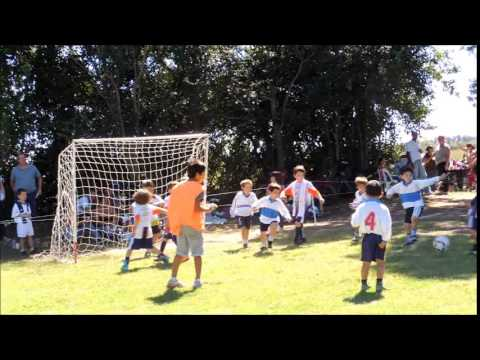 Goles de la cat. 2009 vs Argentino de Lincoln