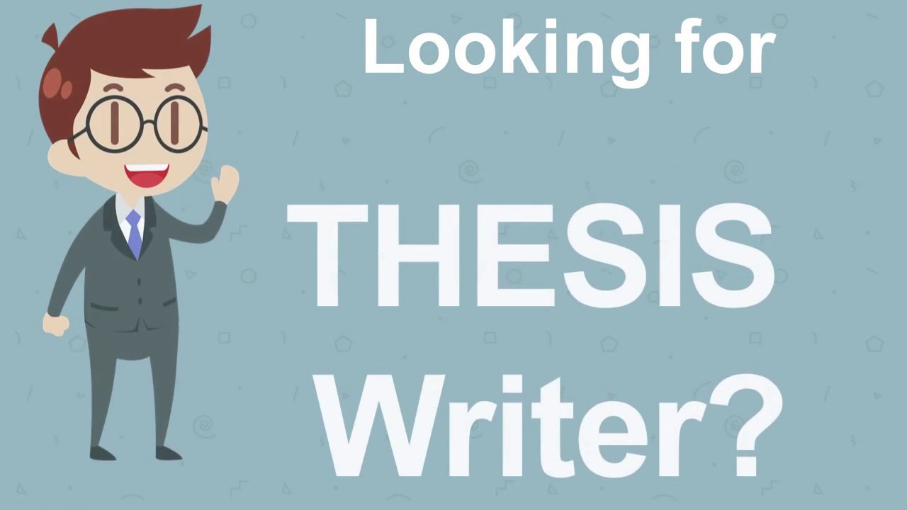 Thesis writers in pakistan