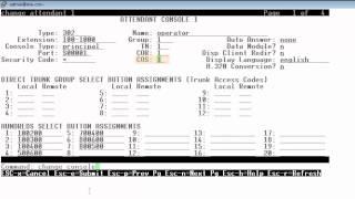 Avaya Communication Manager Attendant Configuration for Avaya one-X Attendant