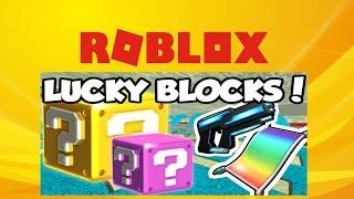 (ROBLOX) | Glückliche Blöcke | Wrecking Menschen mit zufälligen Waffen! [PT.1]