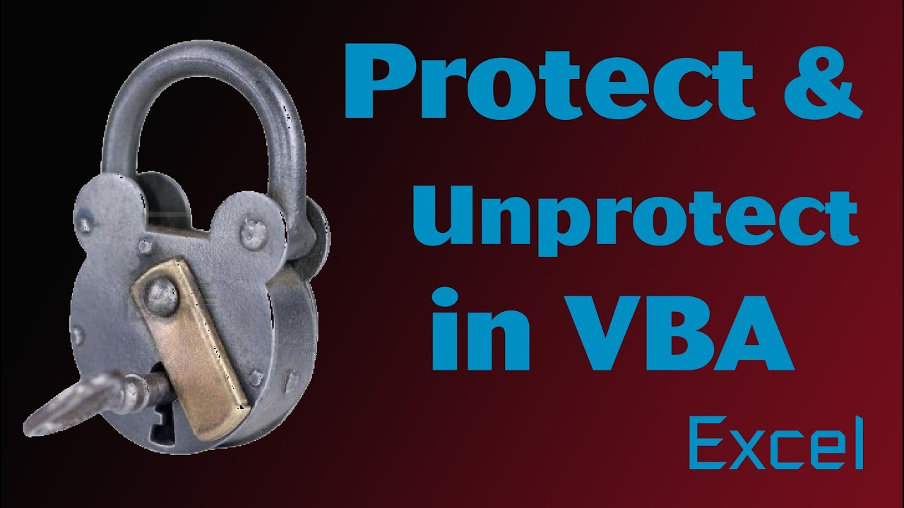 Excel vba tips n tricks 23 unprotect and protect passwords and excel vba tips n tricks 23 unprotect and protect passwords and features youtube ibookread Download