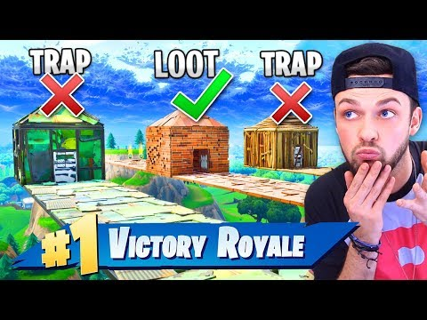 *NEW* TRAP HOUSE MINI-GAME in Fortnite: Battle Royale!