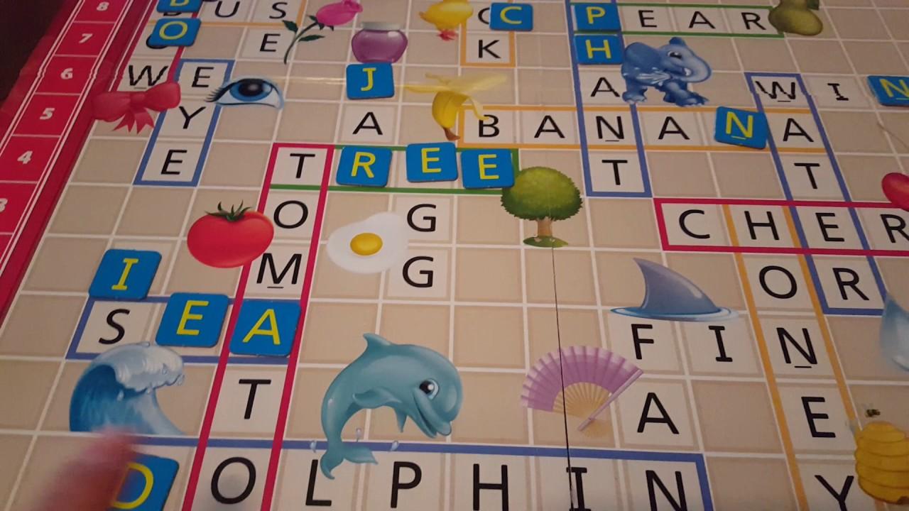 Scrabble Junior Juegos De Mesa Para Ninos Youtube