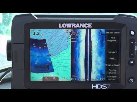 Lowrance HDS & StructureMap