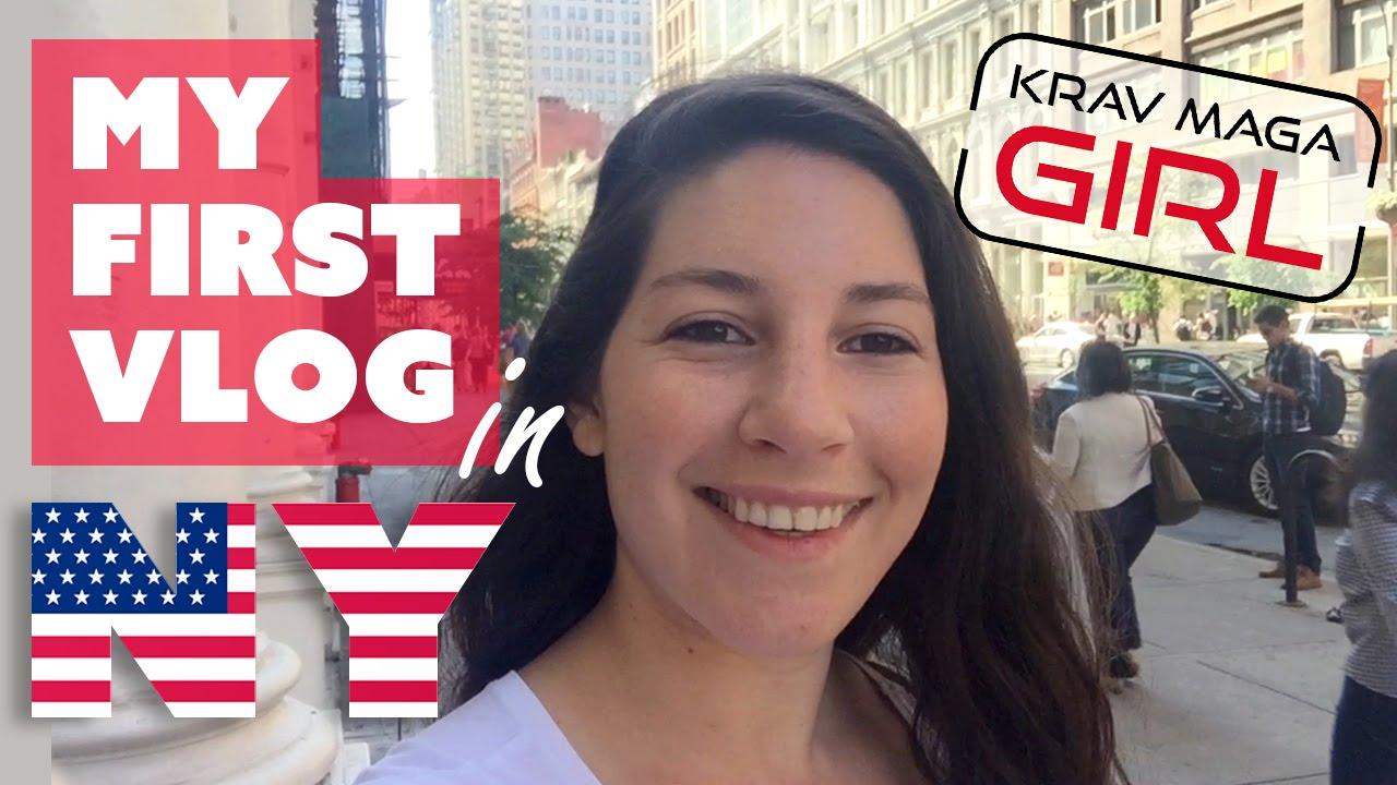 Krav Maga Girl | My first Vlog | I'm flying to New York