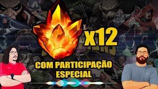 12x Cristais 4* com Participante Surpresa  - Marvel Torneio de Campeões   Contest of Champions
