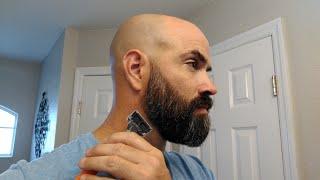 How I Trim the Beard Neckline