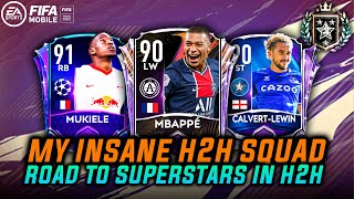 REACHING FIFA GRANDMASTERS | MY INSANE H2H TEAM/SQUAD | ROAD TO SUPERSTARS | FIFA MOBILE 21 |