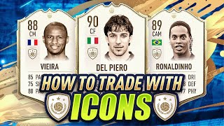 HOW TO TRADE WITH ICONS! STEP BY STEP GUIDE! (FIFA 20 ICON TRADING)
