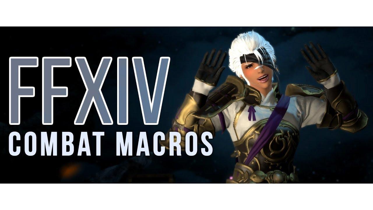 FFXIV - Fully Automated (Basic Combat Macros)