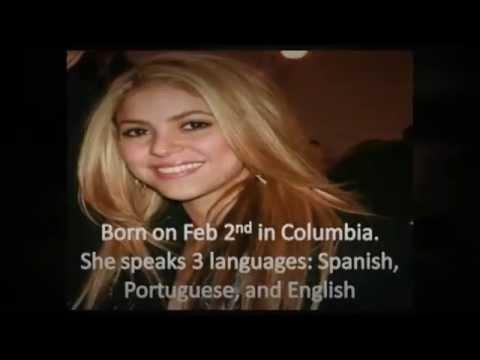 shakira singer biography