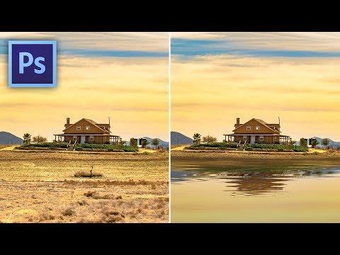 Photoshop tippek (#161.) - Víztükör egyszerűen, de hosszan (#tutorial) videó letöltés