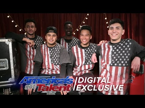 Brobots & Mandroidz Talk Practice Makes Perfect - America's Got Talent 2017