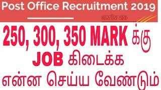 அஞ்சல் துறை வேலை யாருக்கு கிடைக்கும்    Tamilnadu post office job 4442 vacancy 2019   எவ்வளவு மார்க்