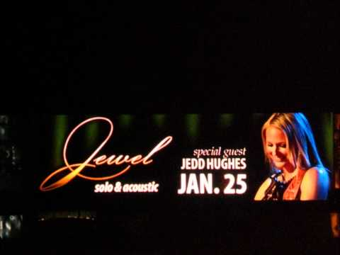Jewel - A Hole In My Heart(Shape of You) 2009-01-25 Merrillville, IN