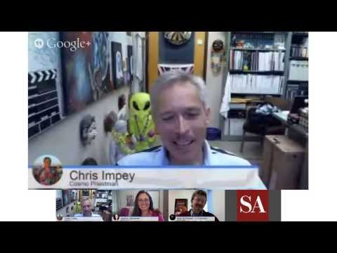 """The Mars MAVEN Mission and """"Dreams of Other Worlds"""" author Chris Impey - SA Hangout #7"""