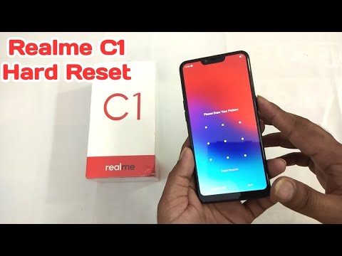 Realme C1 Hard Reset || Pattern Remove || Face unlock