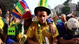 Brasil: Caras largas tras el fin de la aventura mundialista de la canarinha